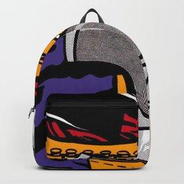 roy lichtenstein gun Backpack