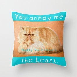 Least Annoying Throw Pillow