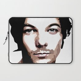 LOUIS TOMLINSON Vector Portrait Laptop Sleeve
