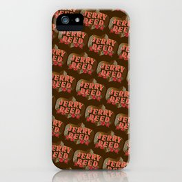 "Jerry Reed ""The Snowman"" iPhone Case"