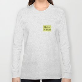 Cake News - Allusion to May in Salzburg Long Sleeve T-shirt