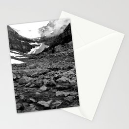 Nameless Rocks Beneath Space Stationery Cards