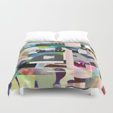Save Face Duvet Cover