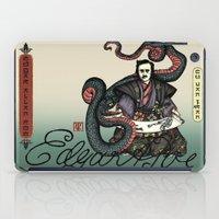 poe iPad Cases featuring Samurai Poe by QStar