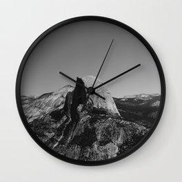 Glacier Point, Yosemite National Park II Wall Clock