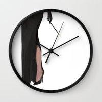 tiffany Wall Clocks featuring Tiffany by Brighid Ghysen