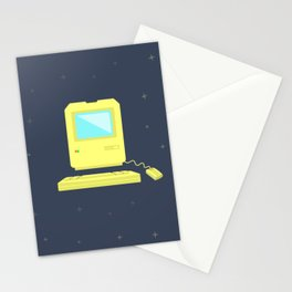 Vintage Computer Stationery Cards