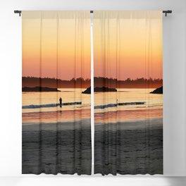 Sunset at Tin Wis Beach Blackout Curtain