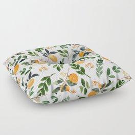 Orange Grove Floor Pillow