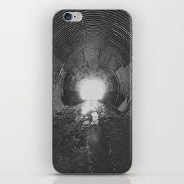 Darkened Tunnel iPhone Skin