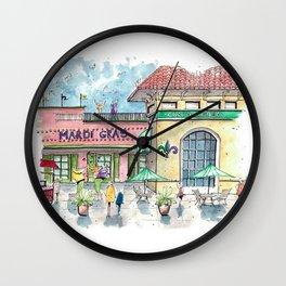 Mardi Gras N'Awlins Wall Clock