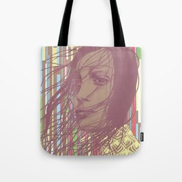 MYSTERY GIRL Tote Bag