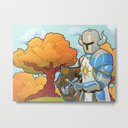 Have you praised the Sun today? Metal Print