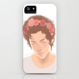 Harry Hair Styles iPhone Case