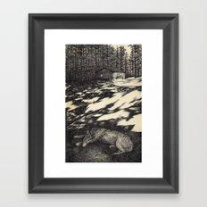 pines Framed Art Print