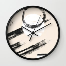 Moving simple shapes #166 Wall Clock