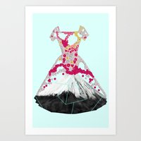blossom Art Prints featuring BLOSSOM by Ceren Kilic