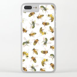 Honey to the Bee Clear iPhone Case
