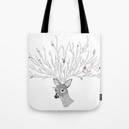 Doris Deer and Friends Tote Bag