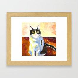 Jinx, The Shanghai Cat Framed Art Print