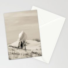 Wild Horses 7 - Black and White Stationery Cards