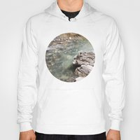 allyson johnson Hoodies featuring Johnson Canyon rocks by RMK Photography