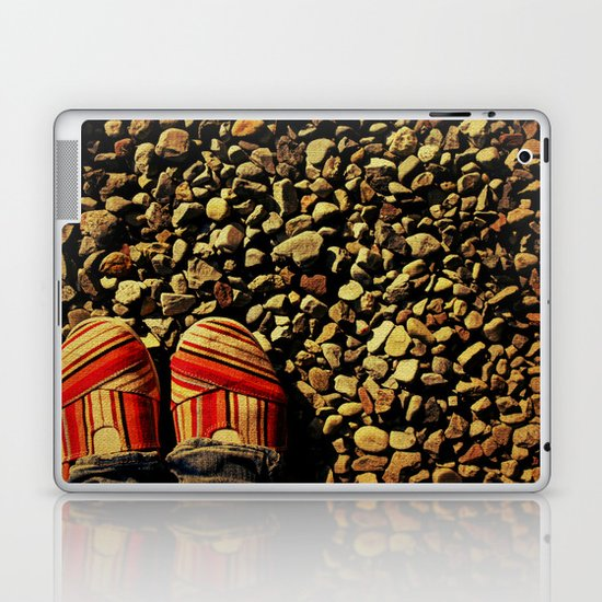 Shoes on the Rocks Laptop & iPad Skin