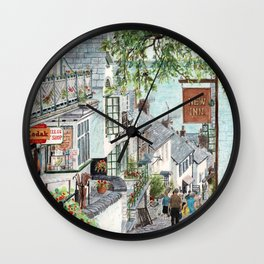 Clovelly, Devon. Wall Clock
