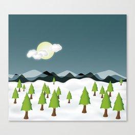 Midnight Isolation Canvas Print