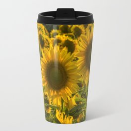 Sunflower Family Travel Mug