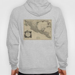 Vintage Map of Mexico (1779) Hoody
