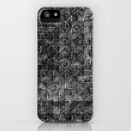 Ink Stitch: Onyx iPhone Case