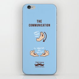 Italians Do It Different - The Communication iPhone Skin
