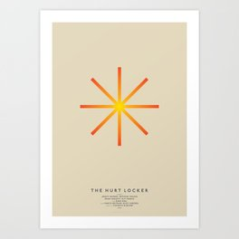 HURT LOCKER Art Print
