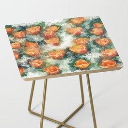 Field of Tulips Side Table