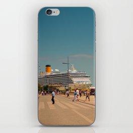 City boat Lisbon iPhone Skin