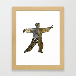 Golden Reach Framed Art Print