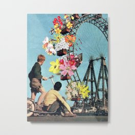 Bloomed Joyride Metal Print