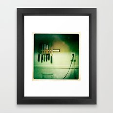 knives Framed Art Print