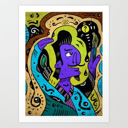 Painter Art Print