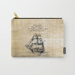 Treasure Island - Robert Louis Stevenson Carry-All Pouch