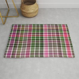 Pink Roses in Anzures 1 Plaid 2 Rug