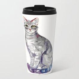 Kitty II Metal Travel Mug