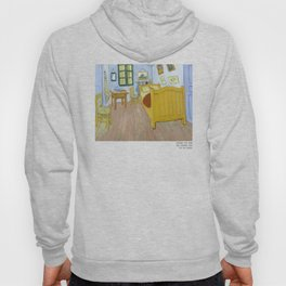 Van Gogh - The Bedroom, 1888, T Shirt, Artwork Reproduction, Tshirts, Bags, Posters, Prints, Men, Wo Hoody