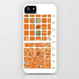 Fagmentos III Barcelona iPhone Case