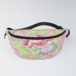 Pink Paisley Kimono Bouquet Fanny Pack