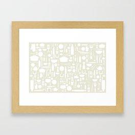 Kitchen mess Framed Art Print