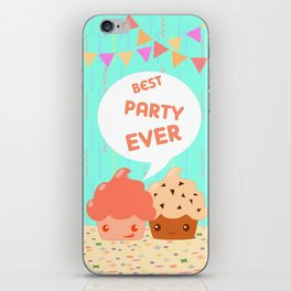 Best party ever! iPhone Skin