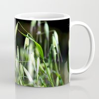 grass Mugs featuring grass by  Agostino Lo Coco