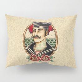 Sailor Tattoo Pillow Sham